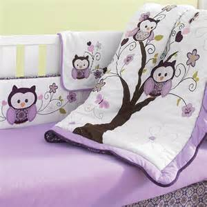 baby crib sets canada by nemcor plum owl 6 crib bedding set sears sears