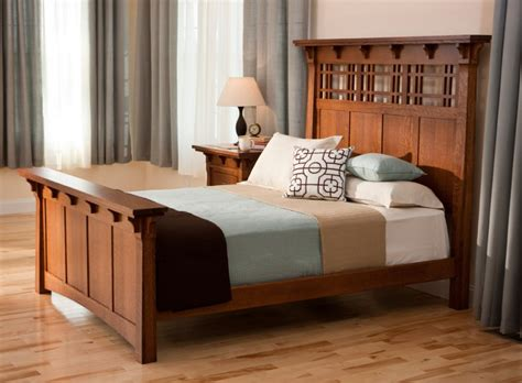 craftsman style bedroom furniture mission style decorating a way to capture and warmth to your home decohoms