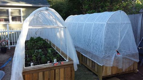 how to make a small covered greenhouse garden 12 diy raised garden bed ideas