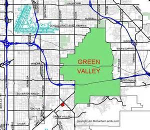 green valley california map green valley
