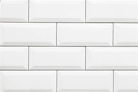 subway tiles white white bevelled subway tiles