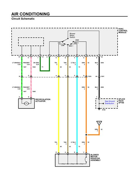 2005 silverado blower motor resistor wiring diagram 51
