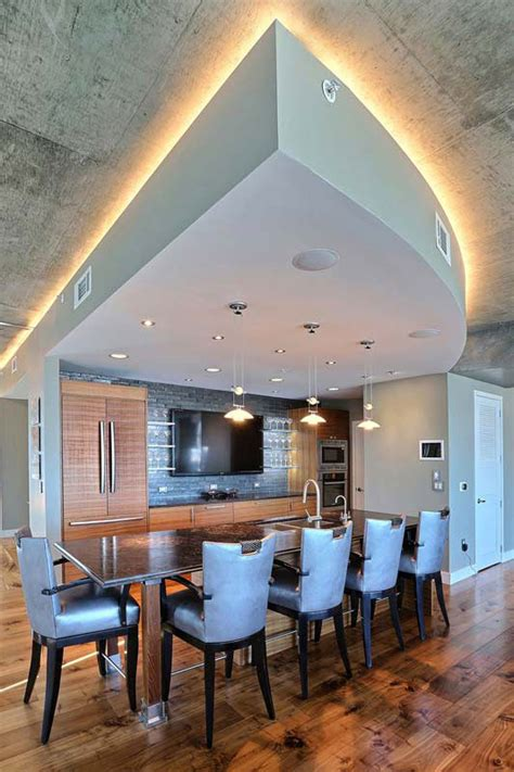 penthouse lounge bar area interior designer denver