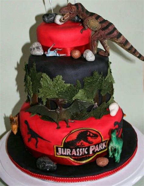 Jurassic Park Cake Decorations by Jurassic Park Cake For All Your Cake Decorating Supplies