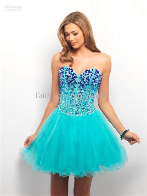 cheap party dresses discount blue   cocktail