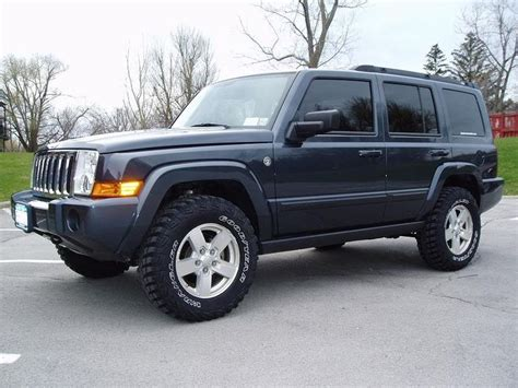 jeep commander silver lifted lifted jeep commander showme your lifted xk jeep jeep
