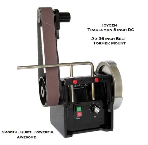 tradesman bench grinder toycen tradesman 8 inch with 3 x 36 inch belt tradesman