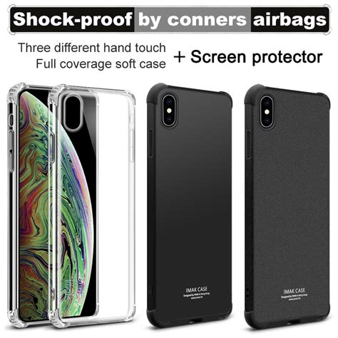 airbag version for iphone x iphone xs iphone xr iphone xs max imak soft tpu silicone