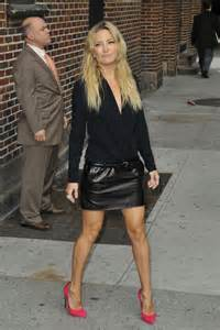 kate hudson in black leather mini skirt 27 gotceleb