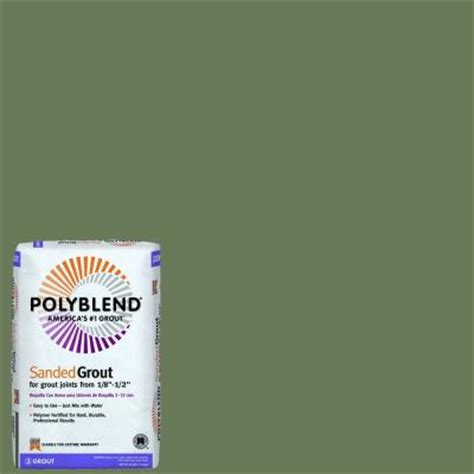 custom building products polyblend 311 moss 25 lb sanded