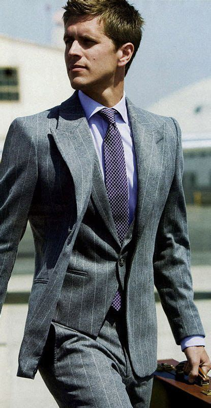 7 Suave Neckties For Your by Best 25 Grey Pinstripe Suit Ideas On Suit