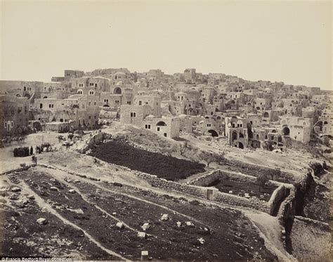 trips to bethlehem in the middle east for xmas francis bedford photos of edward vii s 1862 visit to middle east on display daily mail