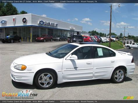 Pontiac Grand Am Gt 2002 by 2002 Pontiac Grand Am Gt Sedan Arctic White Pewter