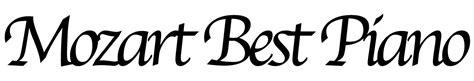mozart best mozart best piano