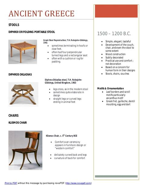 furniture styles timeline furniture timeline assignment