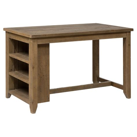 counter height outdoor table jofran slater mill counter height table with storage