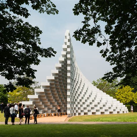 pavillon park celebrating ingenuity the 2016 serpentine pavilion and