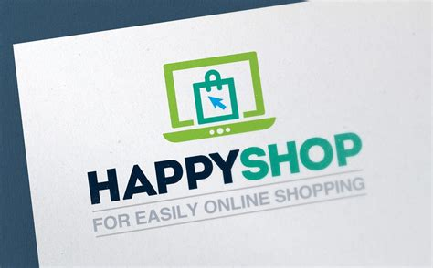 shopping  commerce shop logo template