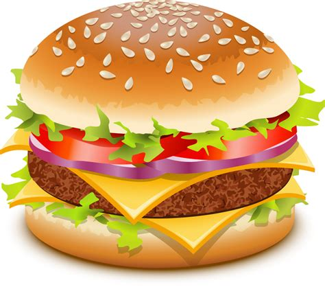 hamburger clipart best hamburger clipart 7535 clipartion