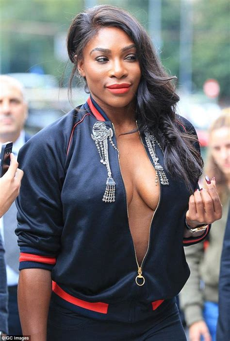 Serena Williams Wardrobe Leaked by Serena Williams Attends Milan Fashion Week