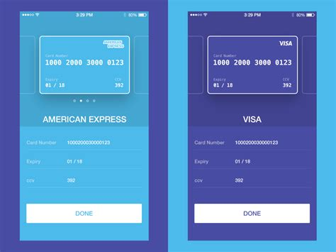 credit card checkout ui concept uplabs