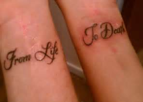 21 Friend Tattoo Quote On Rib » Ideas Home Design