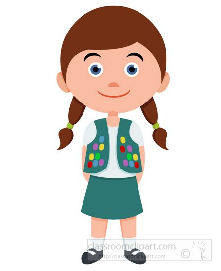 children clipart children clipart scout leader in clipart