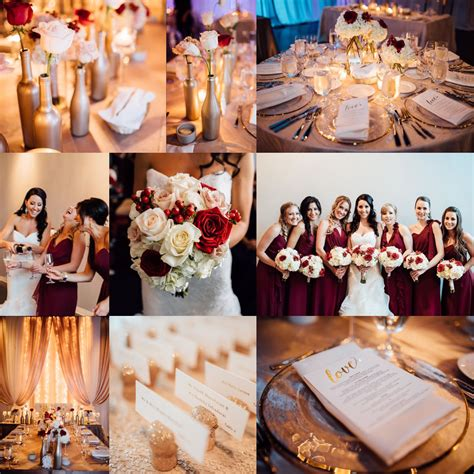 wedding colors gold cranberry wedding colors chagne wedding color