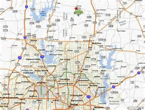 view dfw area map