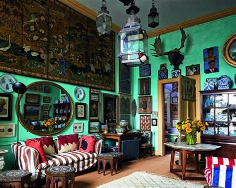eccentric home decor eccentric english home of peter hinwood style english