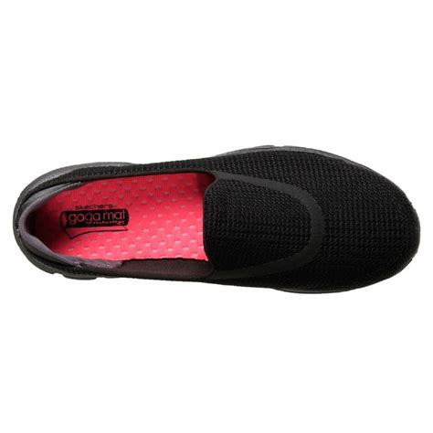 Sepatu Skechers Goga Mat brand new skechers s walking shoe slip on sneaker gowalk3 fitknit goga mat ebay