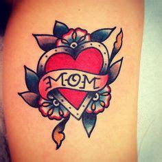 traditional heart tattoos ideas  pinterest