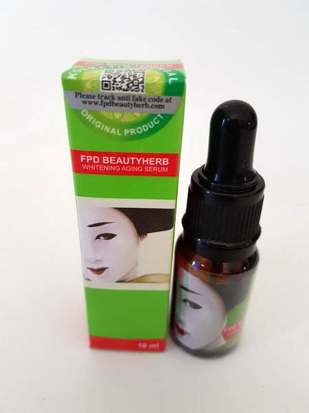 Serum Fpd fpd herbal serum original bpom grosir kosmetik