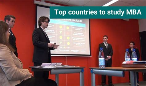 Best Country For Mba by Top Destination To Study Mba Check Here