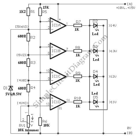Simple Car Voltmeter Wiring Diagram on voltmeter block diagram, digital multimeter circuit diagram, simple led circuit diagram, voltmeter parts diagram, voltmeter circuit diagram, voltmeter switch diagram,