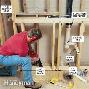 How To Install New Bathtub Faucet How To Remodel A Small Bathroom The Family Handyman