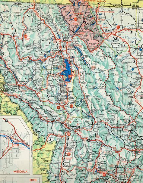 interstate 90 map montana aaroads interstate 90