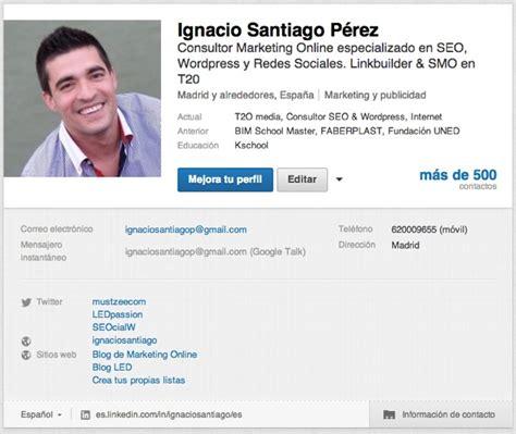 fotos para perfil linkedin 10 pasos para conseguir un perfil perfecto en linkedin
