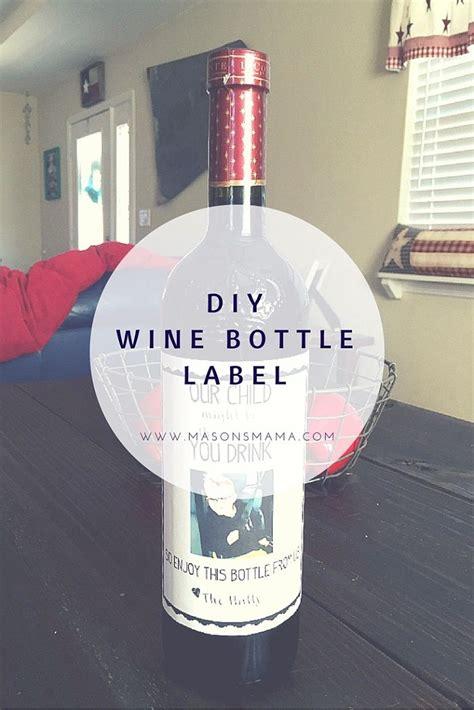 wine bottle l diy wine bottle label for teacher diy teaching bottle