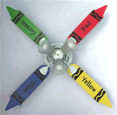 Crayon Ceiling Fan by Ceiling Fans In Rooms
