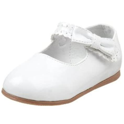 infant toddler white or beige dress shoes