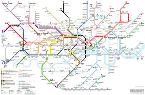 Tube Map 2015 Northern Line | tube map 2015