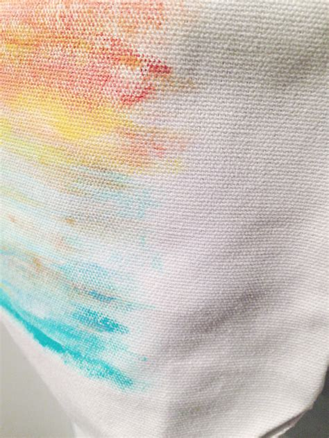 can you use acrylic paint on canvas bags week 4 tropical sunset tote bag kristen laczi