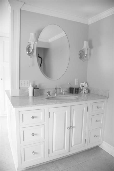 Oval Mirrors For Bathroom Vanities by Lowes Bathroom Vanities White Bathroom Vanity Oval Mirror