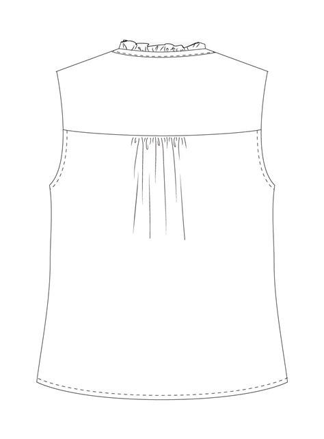 pattern sewing pdf vienna tank digital sewing pattern pdf itch to stitch