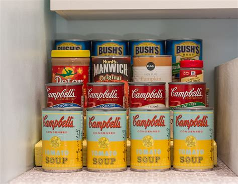 Average Shelf Of Canned Foods by Operation Pantry Remodel The Reveal Sue Design