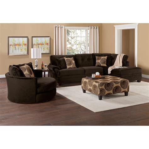 American Signature Furniture Ta by Cordoba Chocolate Ii 2 Pc Sectional American Signature Furniture