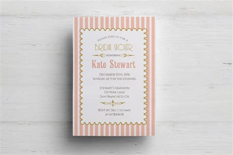 customizable invitation templates 15 bachelorette invitation template word psd eps and