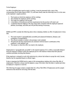 Contract Letter Between Employer And Employee sle letter agreement between employer employee forms