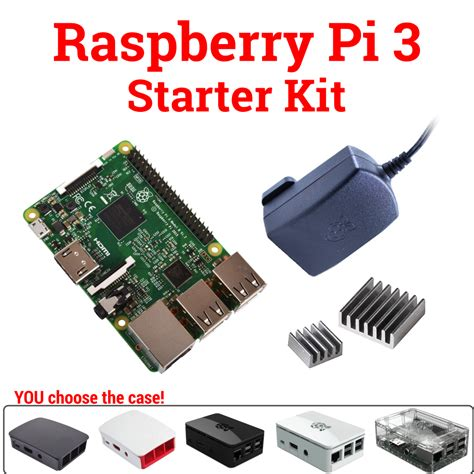 raspberry pi kit raspberry pi 3 model b starter complete ultimate kits